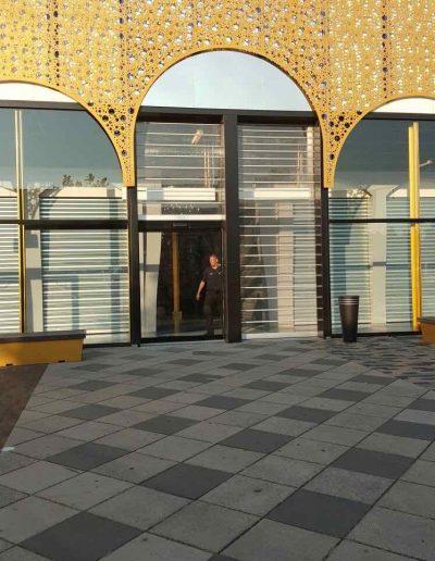 Automatische deur Bazaar Beverwijk maatwerk schuifdeur 1