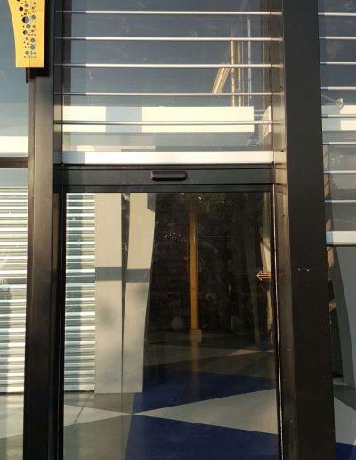 Automatische deur Bazaar Beverwijk maatwerk schuifdeur 2